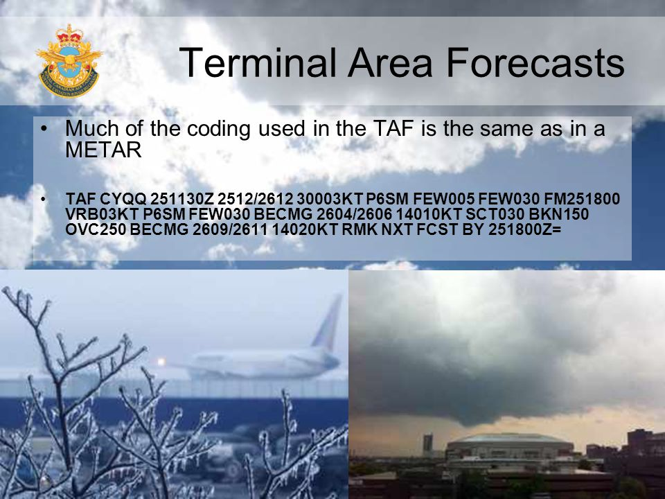 Terminal Area Forecasts