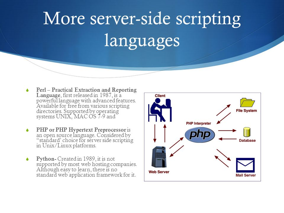 Server-Side Languages Compared - YouTube