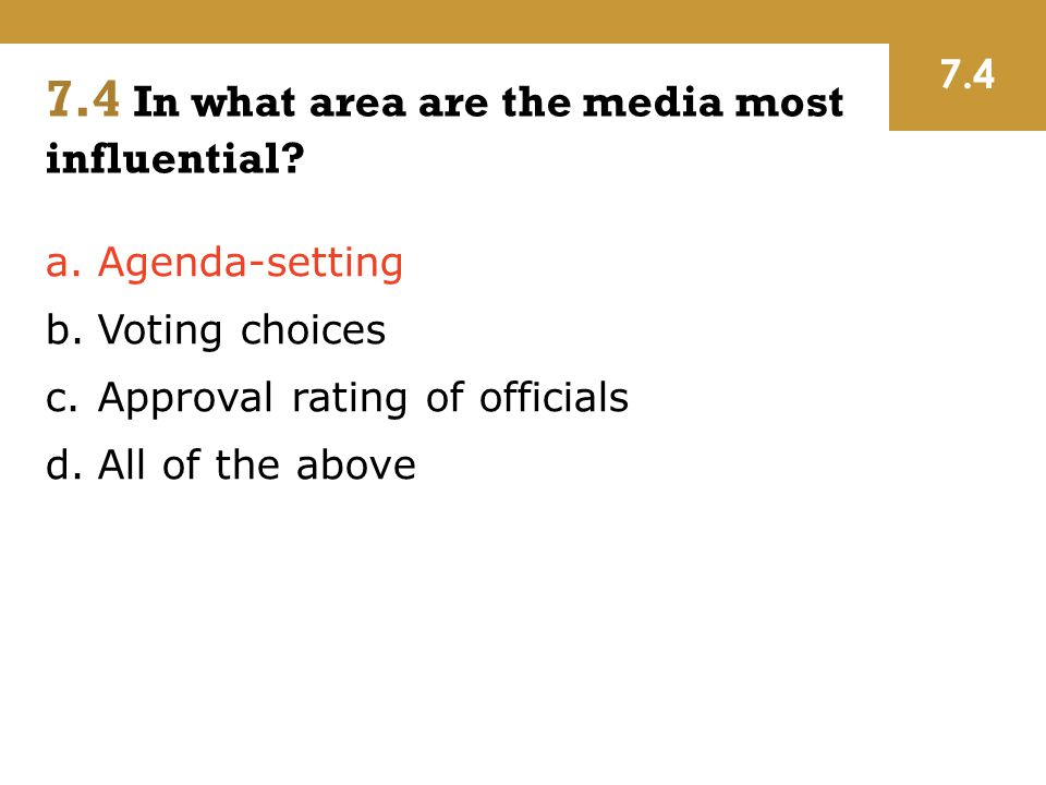 poll results and the agenda setting by the media Discuss the agenda setting theory your answer should give background of the agenda setting theory, main findings of the chapel hill study and the need for conducting charlotte study agenda setting theory (maxwell mccombs and donald l shaw) media influence affects the order of presentation in news reports about news events, issues in the public mind.