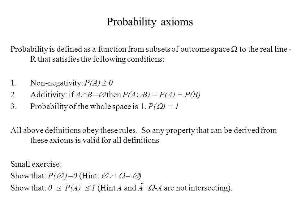 Short review of probabilistic concepts - ppt download