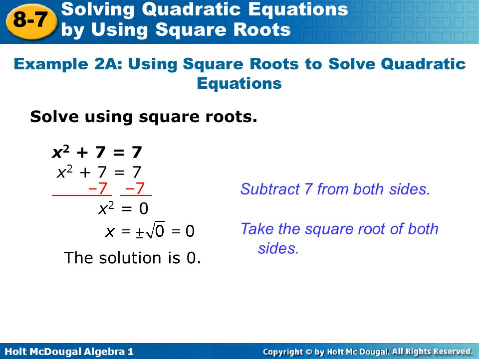 how to find real roots of a quadratic equation