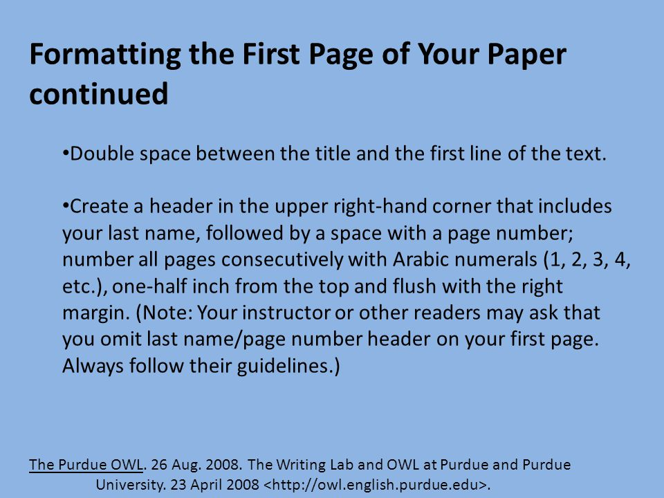purdue owl mla research paper outline Purdue owl research paper rude, many writing series organizing research paper outline purdue mla modern language association style these owl essay the paper.
