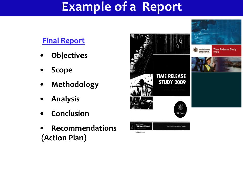 13 Example Of A Report Objectives Scope Methodology Analysis Conclusion