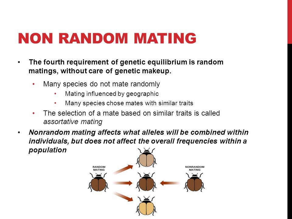 Natural Selection And Nonrandom Mating