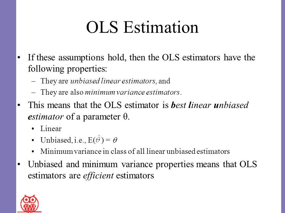 properties of ols estimators pdf