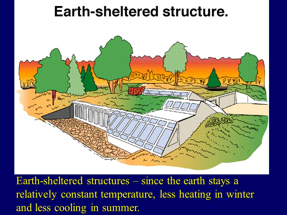 Renewable sources of energy ppt download for Earth sheltered structures
