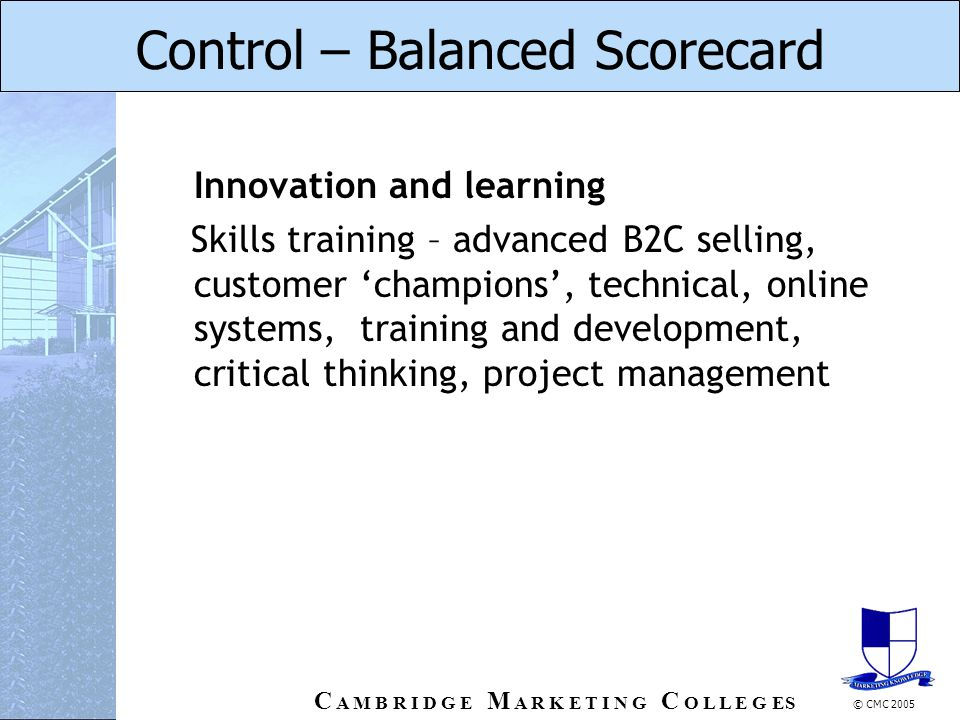 marketing assignment questions on balanced scorecard How to write the marketing or marketing  they answer the questions:  (2007) have also extensively worked on balanced scorecards the balanced scorecard.