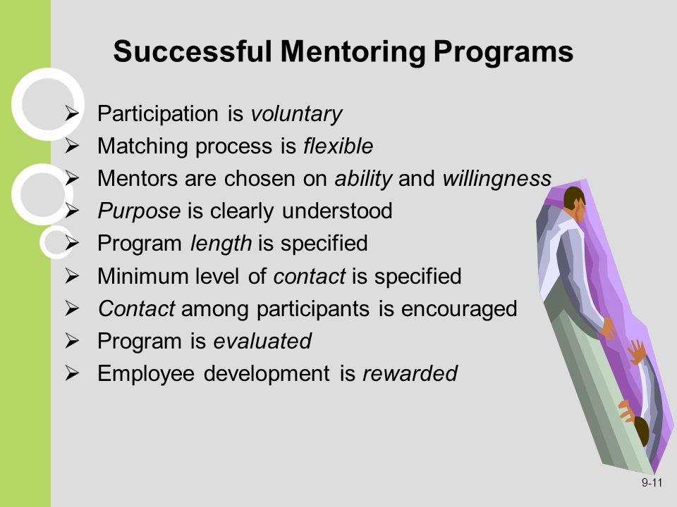 Successful Mentoring Programs