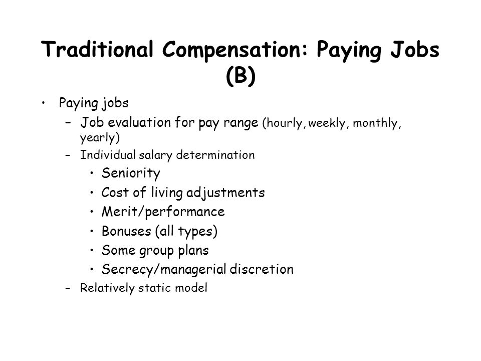 seniority vs merit pay Bonuses are meant to reward outsized performance, but they can end up  penalizing many workers.