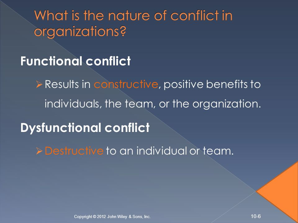 functional conflict essay Functionalism, conflict theory and symbolic interaction in adam ferguson's an essay on the history of civil society  functionalism theory, conflict theory.