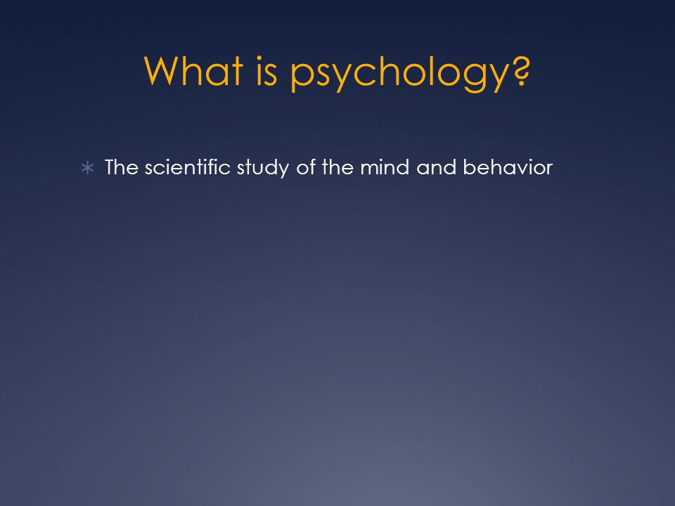 Psychology and Human Behavior - Study.com