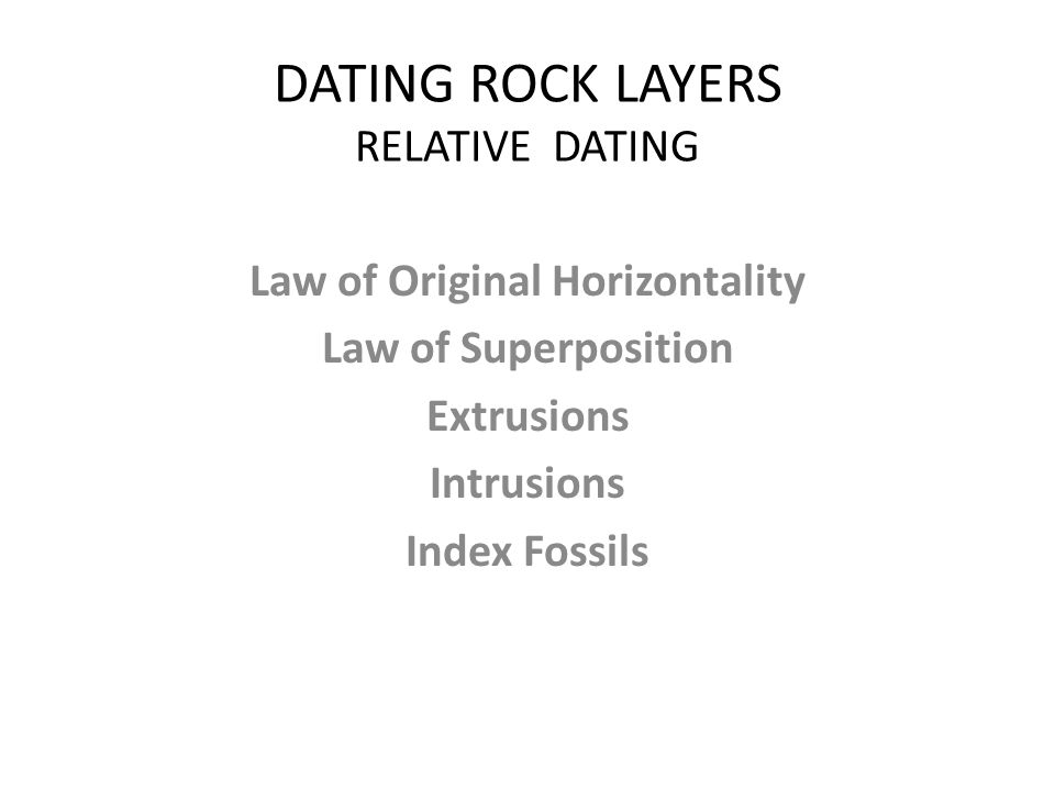 Difference between igneous intrusion and extrusion relative dating