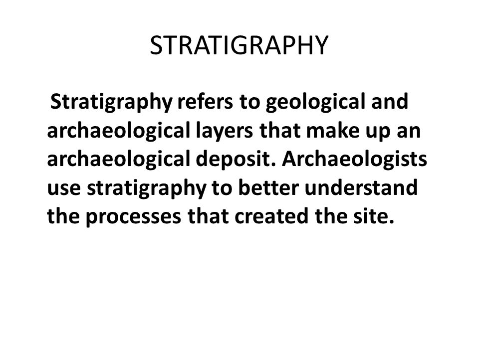 stratigraphy and geological correlation pdf