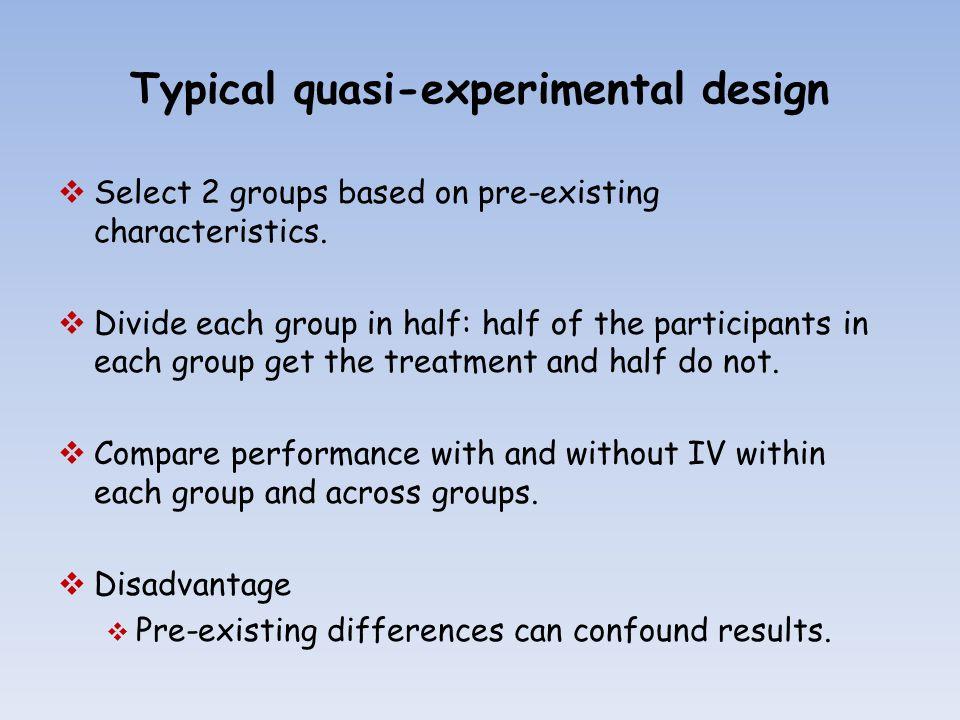 Quasi-Experimental Designs - YouTube