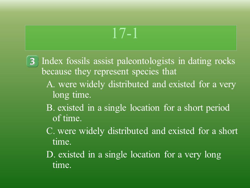 What is the simplest dating method used by paleontologists