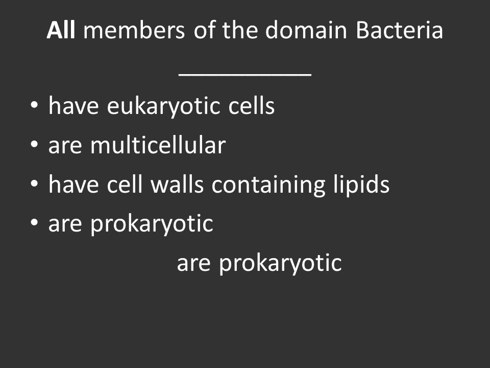 All members of the domain Bacteria __________