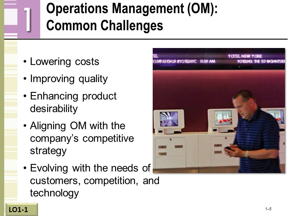 Operations Management (OM): Common Challenges