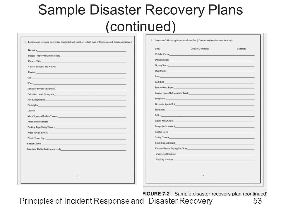 Principles Of Incident Response And Disaster Recovery  Ppt Video