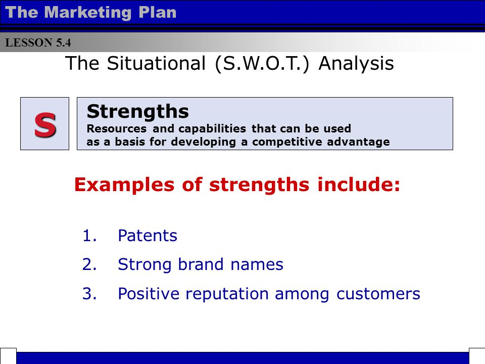 Situation Analysis (SWOT) - ppt download