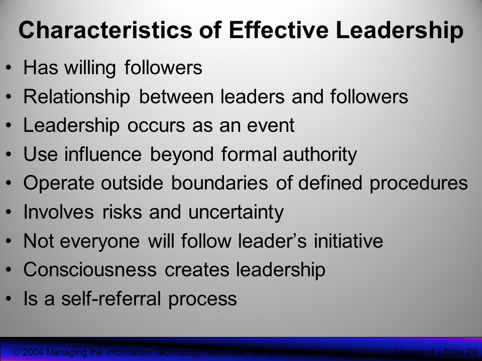 leaders and followers relationship