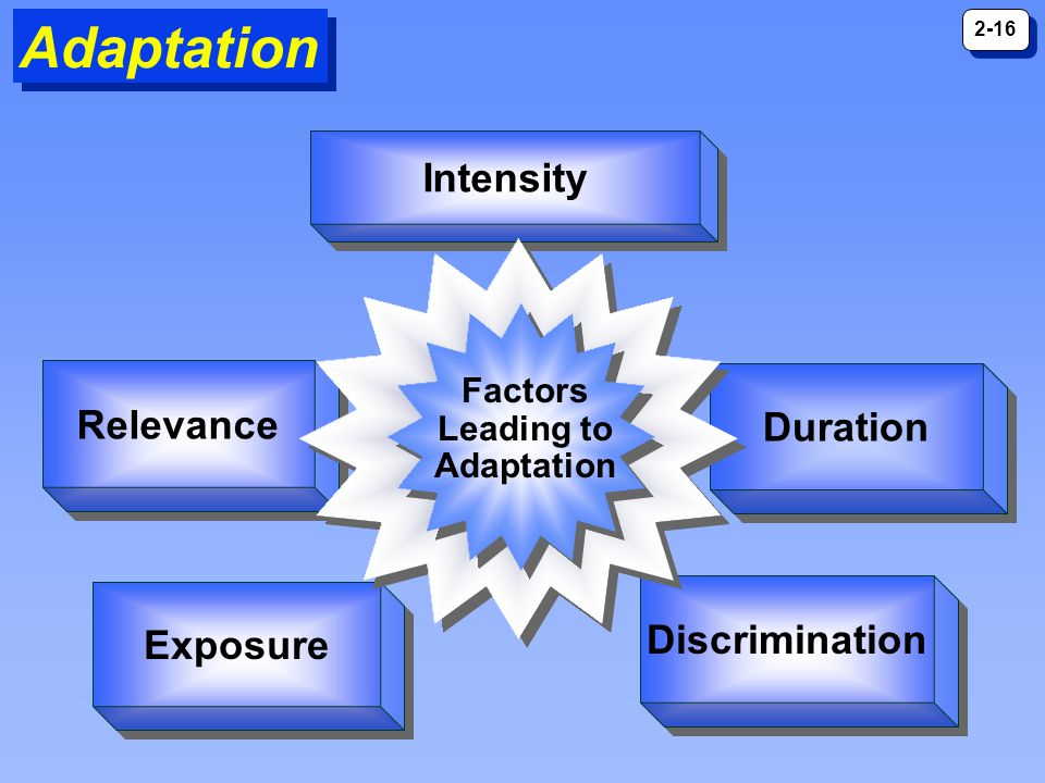 Factors Leading to Adaptation