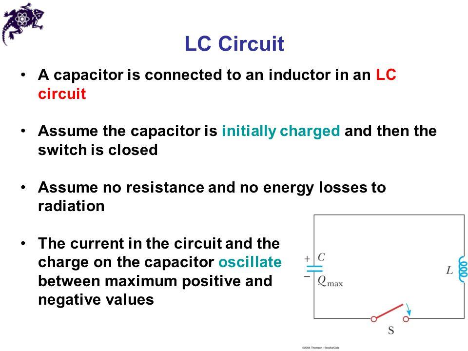 Circuito Wincofon : Maximum current in lc circuit formula energy stored a