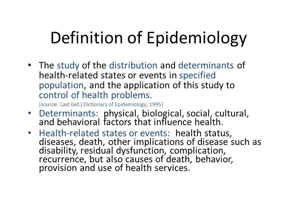 Epidemiology and Surveillance - CDPH Home