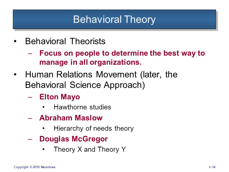 a report on marlows hierarchy of needs theory and mcgregors theory x and theory y Transformational leadership theory  abraham maslow's hierarchy of needs model can be directly applied to current  douglas mcgregor's theory x and theory y:.