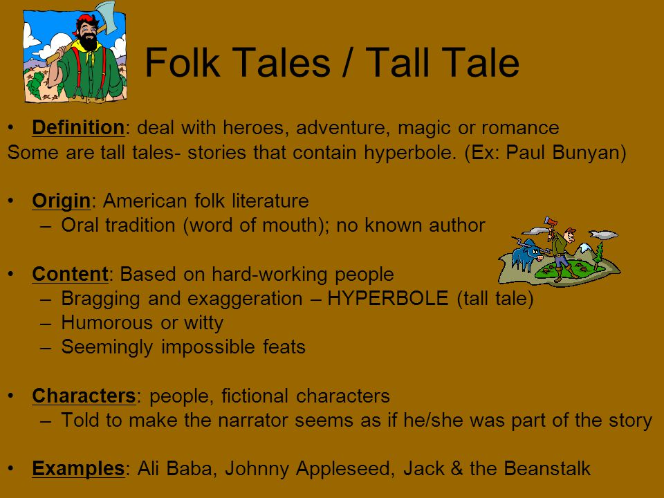 folk literature definition