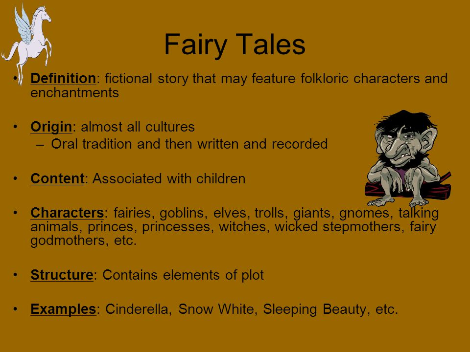 fables definition a brief story that sets forth some