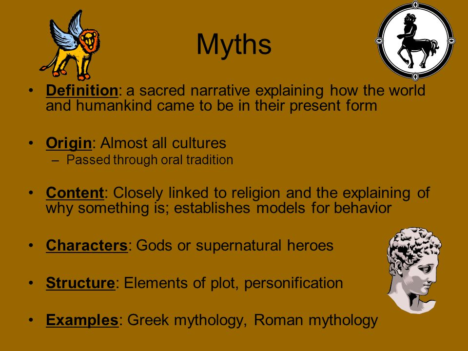 Myths and Narratives: The Origin of the Humanities