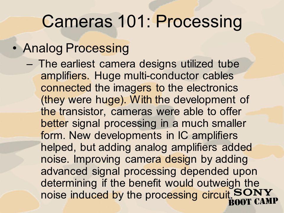 Cameras 101: Processing Analog Processing