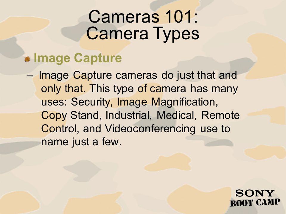 Cameras 101: Camera Types Image Capture