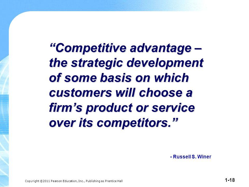 competitive advantage through market orientation on The role of market orientation on company performance through the development of sustainable competitive advantage: the inditex-zara case.
