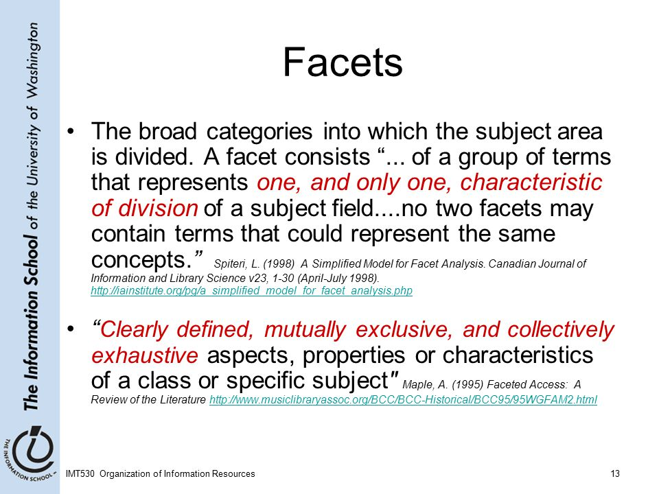 meaning of facet