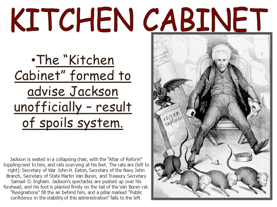 The jacksonian era comp book notes ppt video online download for Kitchen cabinets jackson