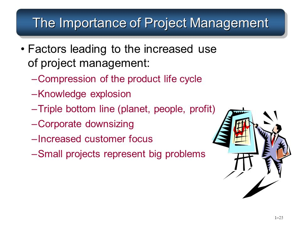 the importance of project management essay Project management has become an important aspect of business in many companies projects are integrated with the strategic views of the corporation to ensure maximum benefits are achieved project management is a vital method to the economic process of a company.