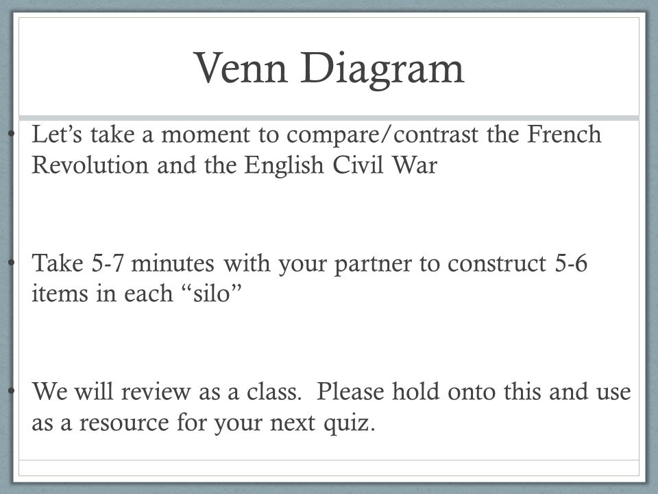 """english civil war and french revolution """"dual revolutions: capitalist industrialism and the nation state"""" abstract: this essay explores the evolution and development of the modern nation-state beginning with the english civil war of the seventeenth century and moving to the american, french, haitian, and latin american revolutions of the eighteenth and."""