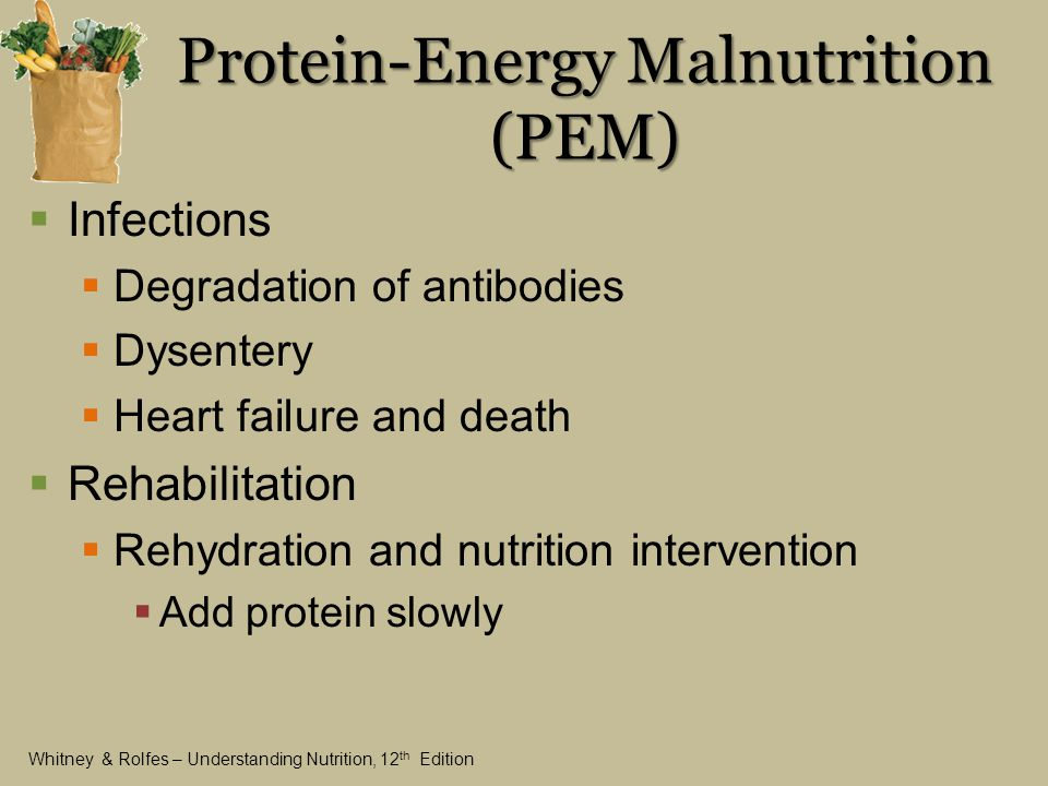 protein relationship with health illness and death