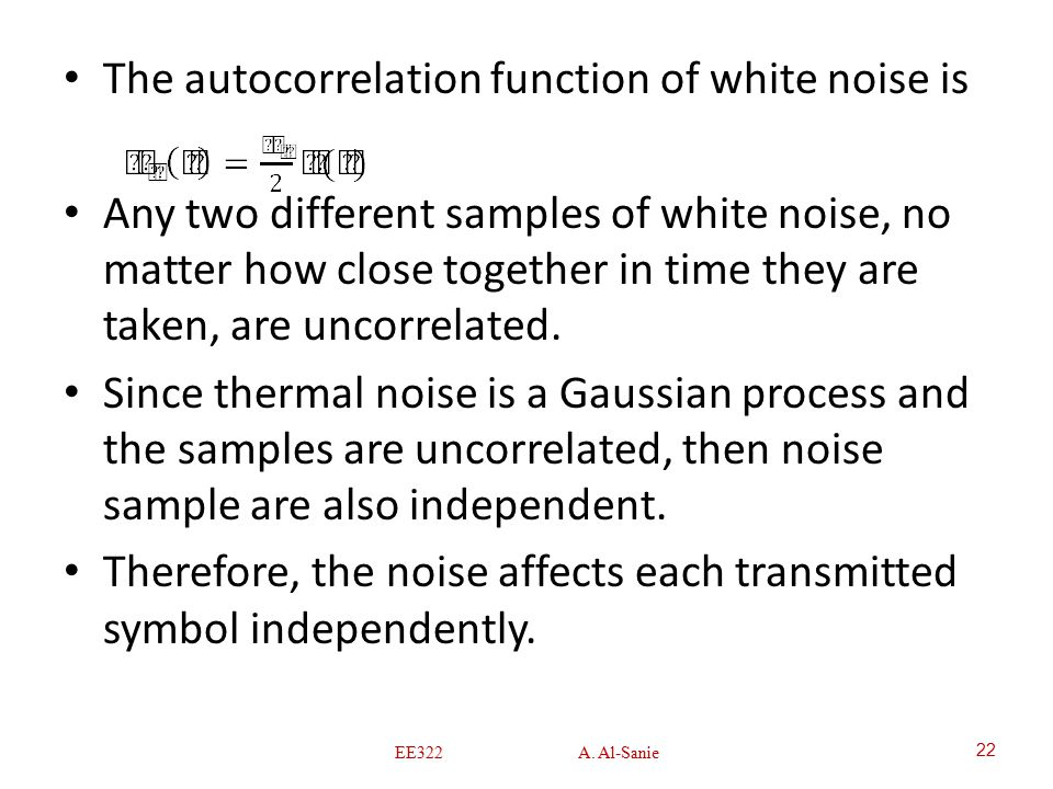 thermal noise in communication system pdf