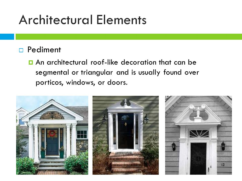 Architectural Features Ppt Video Online Download