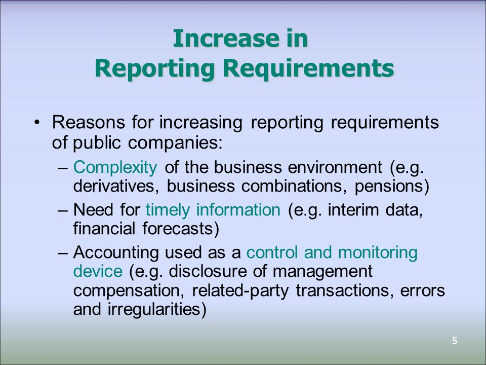 reporting irregularities in financial statements The financial reporting and audit group welcomes input and information from public stakeholders who are in unique positions to help curtail financial reporting and accounting fraud, either by reporting such misconduct directly to the sec or by sharing valuable research to inform the fraud group's efforts.
