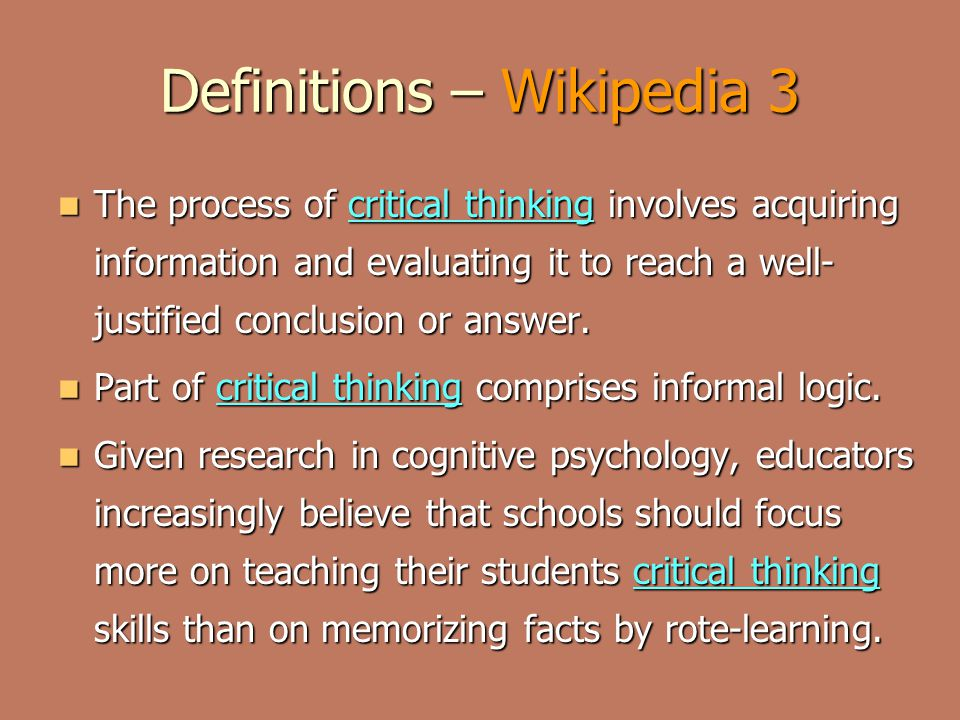 Definitions – Wikipedia 3