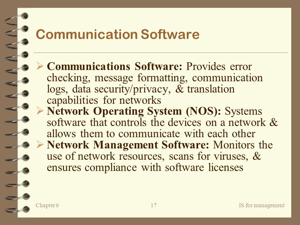 Communication Software