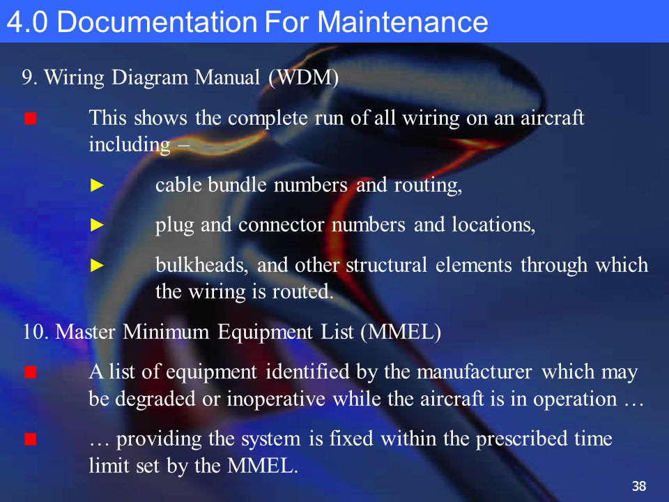 20 development of maintenance programs ppt download 38 40 documentation for maintenance 9 wiring diagram manual wdm asfbconference2016 Image collections