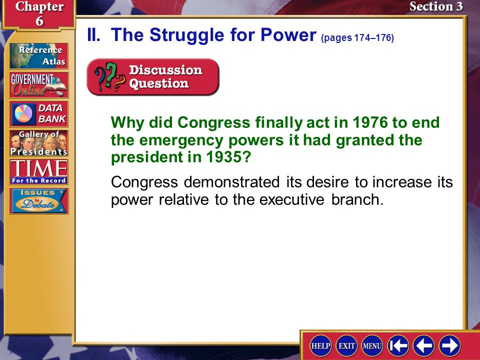why has congress lost power in relationship to the president