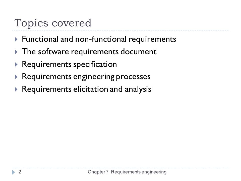 Chapter   Requirements Engineering  Ppt Download