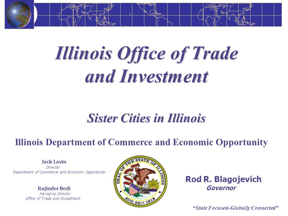 Illinois Office of Trade and Investment Sister Cities in Illinois