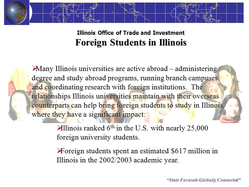 Illinois Office of Trade and Investment Foreign Students in Illinois