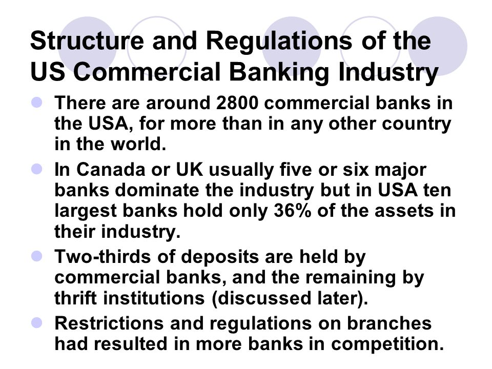 Topic Banking Structures Around The World Ppt Video Online - Major banks in usa